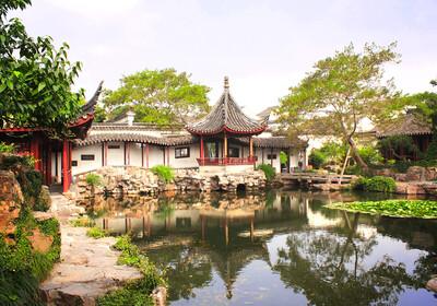 Kina - Suzhouu - vrt