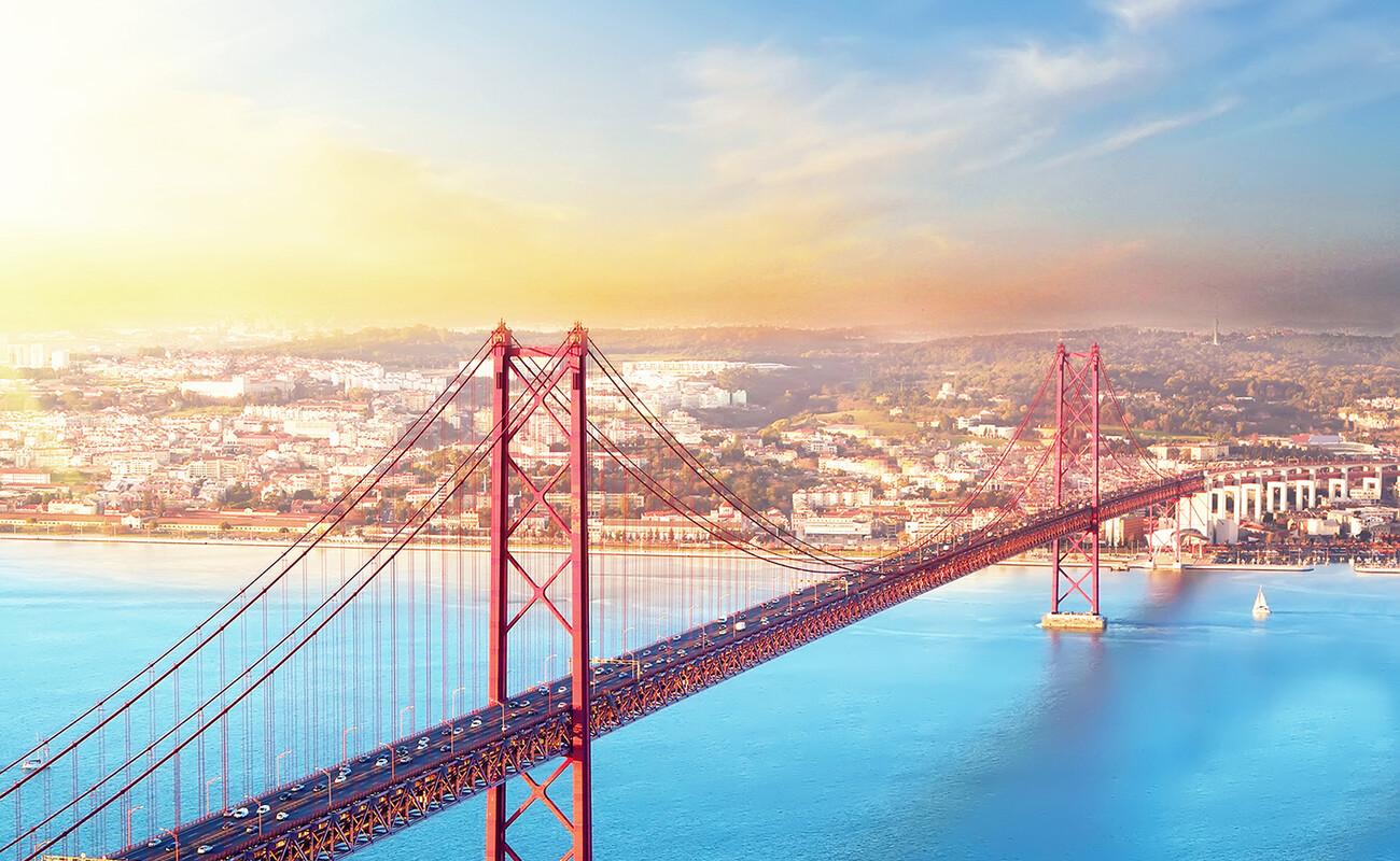 Crveni most u Lisabonu, putovanje u Portugalu