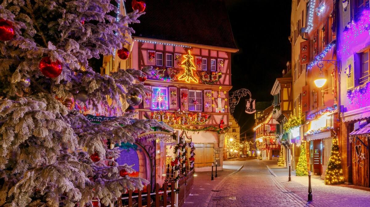 zimska idila u Colmaru, europska putovanja, advent