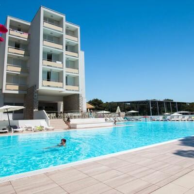 Biograd, Hotel Adria, vanjski bazen