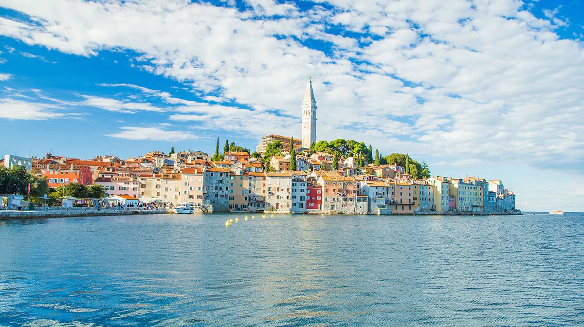Rovinj panorama, putovanje u Istru