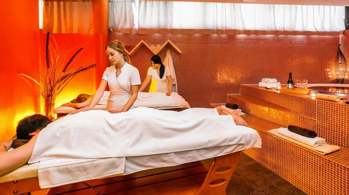 Hotel Punta, masaža