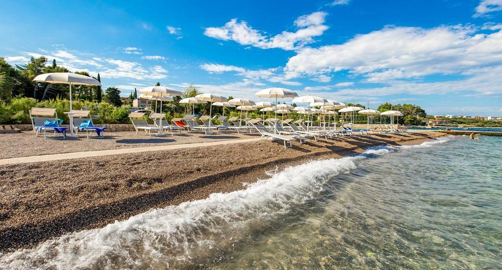 Malinska, Hotel Malin, plaža