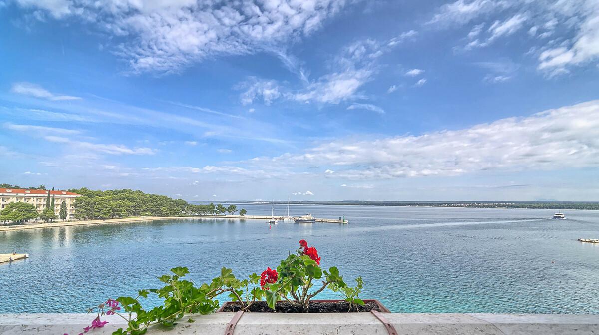 Pogled na uvalu otoka Nacionalnog parka Brijuni.