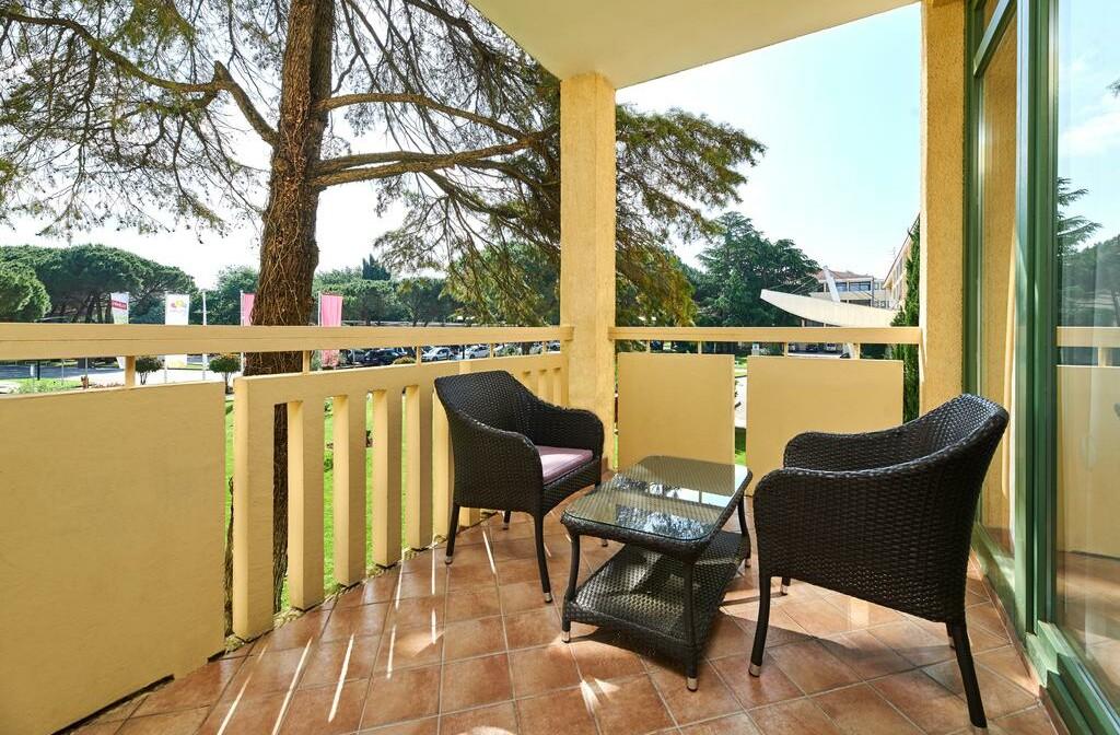 Umag, Hotel Sol Aurora, balkon