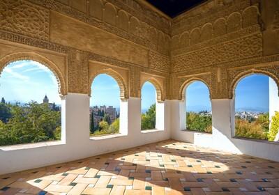 Pogled iz Alhambre, putovanje u Andaluziju, putovanje zrakoplovom, mondo travel. garamtirani polasci
