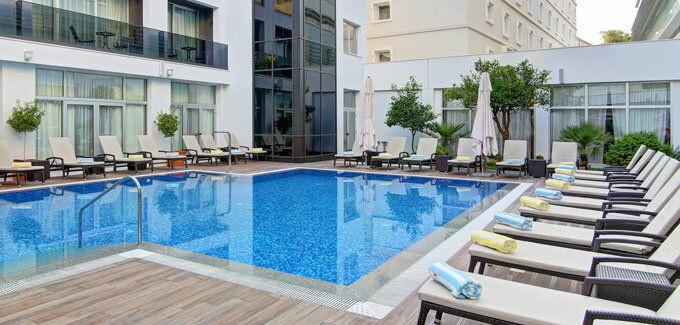 Hotel Lero, vanjski bazen