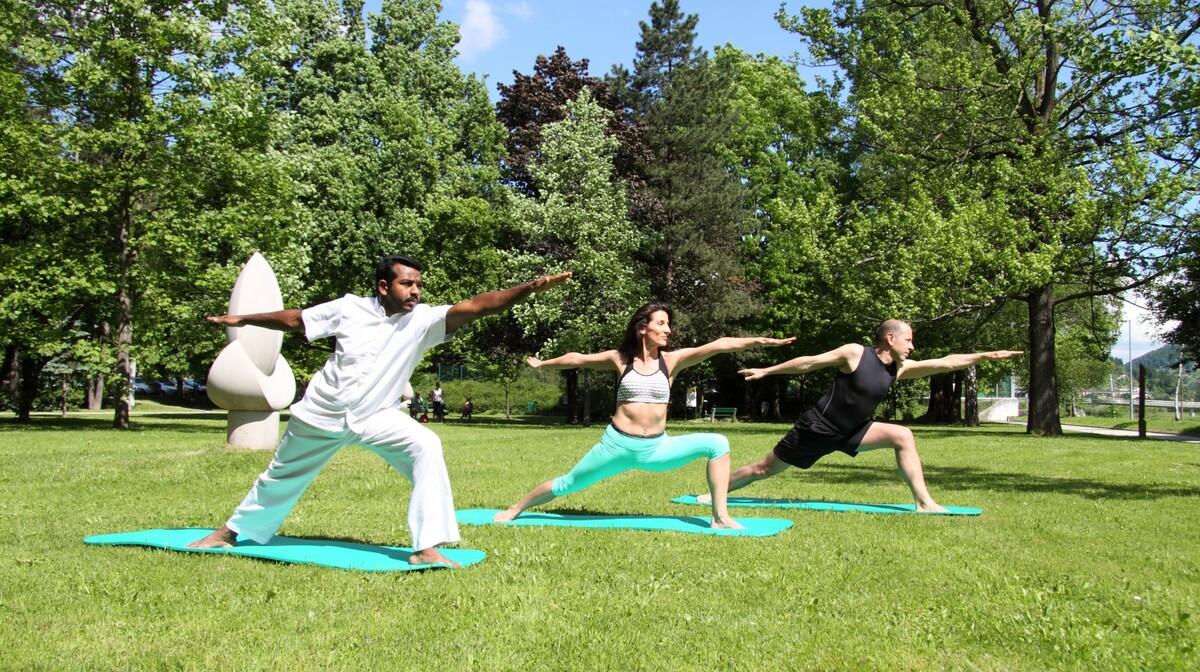 Thermana Laško Yoga in park