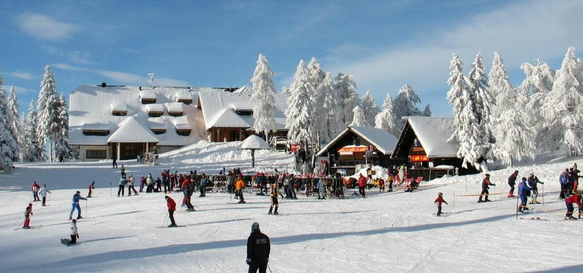 skijanje slovenija, Krvavec