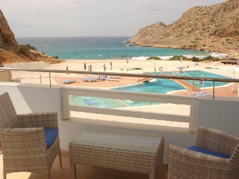 Karpatos Last minute, Arkasa, Aparthotel Royal Beach, pogled na plažu