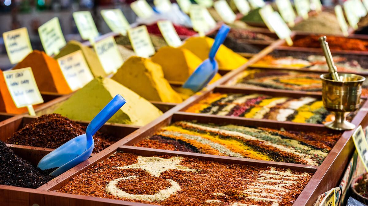 Egipatska tržnica, Istanbul, mondo travel