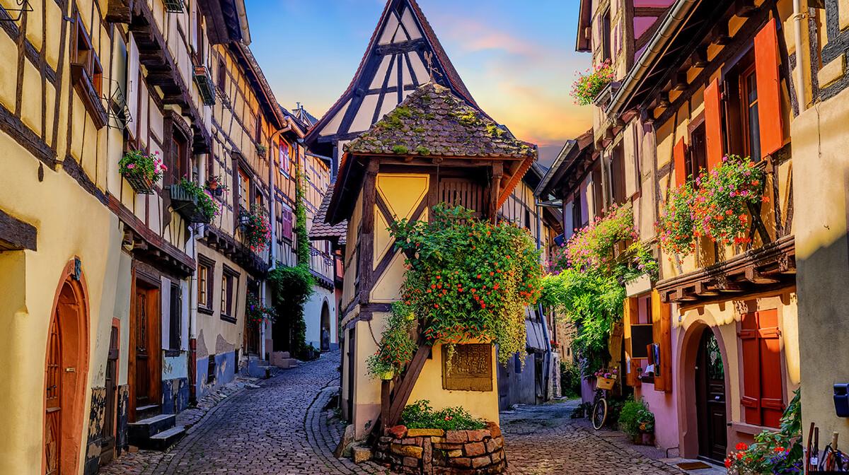Eguisheim je biser Alzace, putovanje u colmar i alzace, francuska tura, garantirani polazak