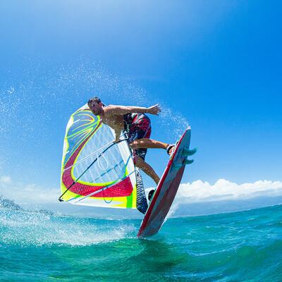 Windsurfing, jedrenje na dasci