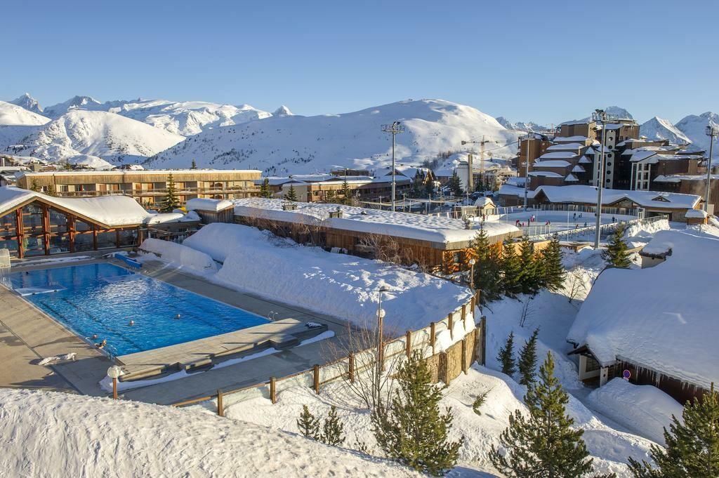 Skijanje, Francuska, Alpe d'Huez, Residence Franceloc D'huez, bazen