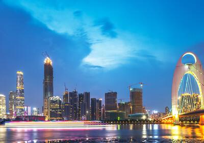 Kina - Guangzhou most
