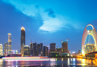 Kina - Guangzhou most, putovanje u Kinu, daleka putovanja, mondo travel
