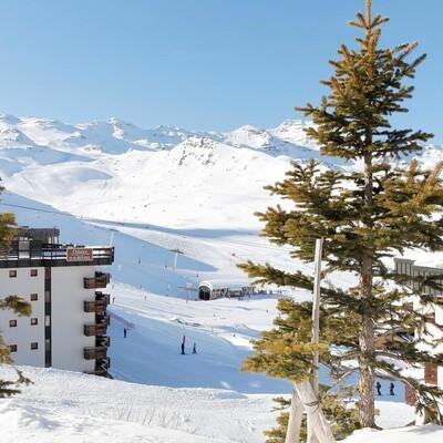 Skijanje u Francuskoj, Val Thorens, Apartmani Tourotel, na stazi