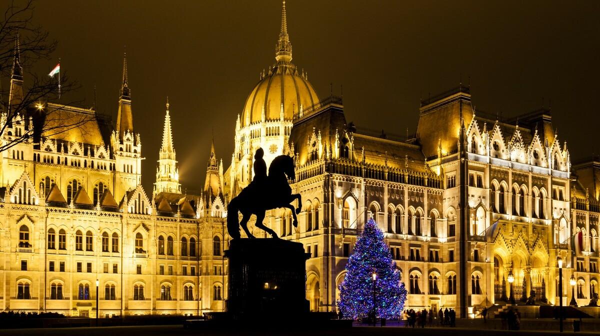 Budimpešta - advent