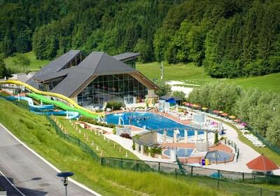 Wellnes i zimovanje u Sloveniji, Kamnik, Terme Snovik, bazeni panorama