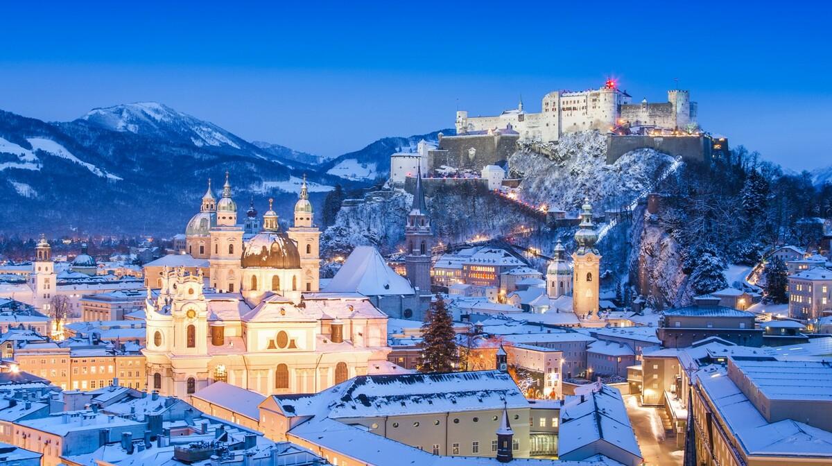 Advent u Salzburgu, putovanje Salzburg i Austrijska jezera