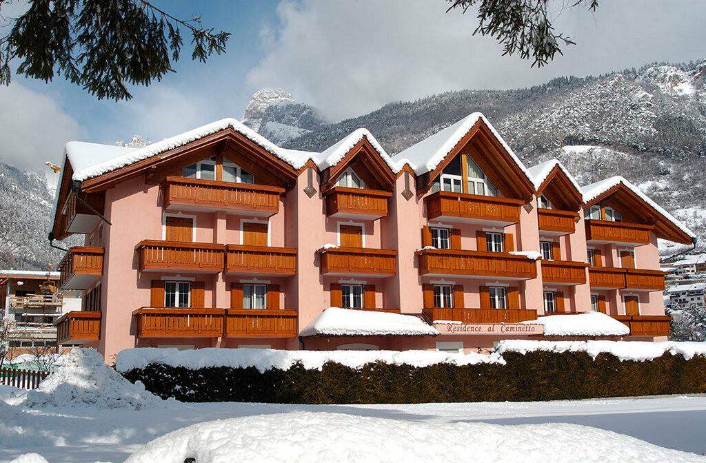 Skijanje u Italiji, skijalište Andalo / Paganella, Molveno, Apartmani Al Caminetto, pogled izvana