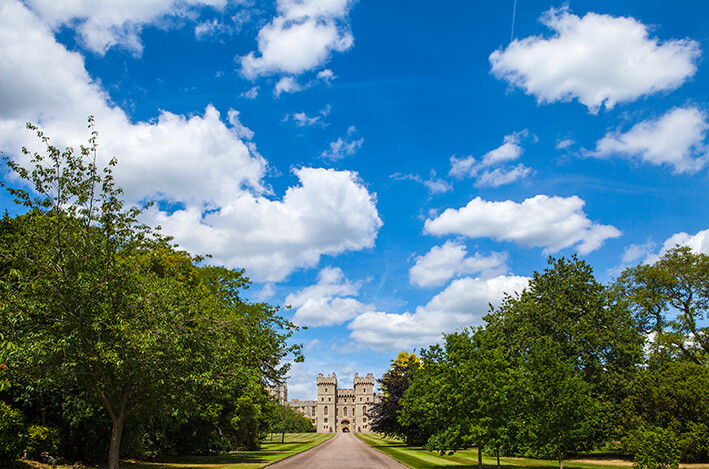 London putovanje,  kraljevski dvorac Windsor