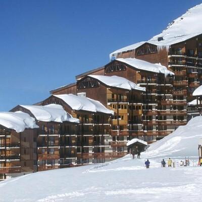 Skijanje u Francuskoj, Val Thorens, apartmani Le Cheval Blanc, zgrada