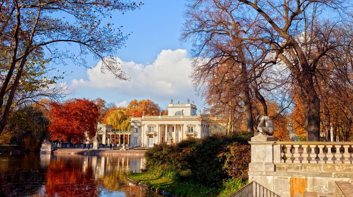 Poljska, Varšava - Lazienki Park