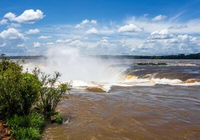 Argentina -Iguazu vodopad