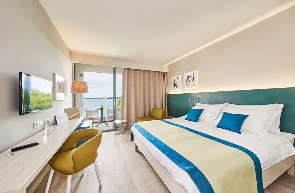 Umag, Hotel Sol Sipar, soba, pogled more