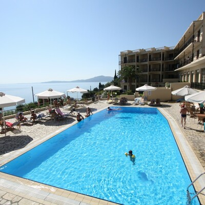 Krf, Agios Ioannis, Hotel Belvedere