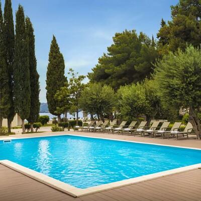 Cavtat, Remisens hotel Epidaurus, vanjski bazen