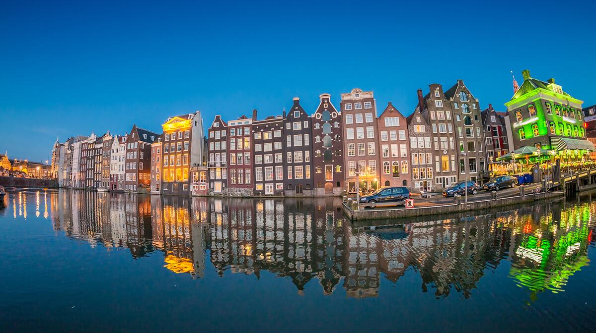 Amstedamski kanali, putovanje u Amsterdam