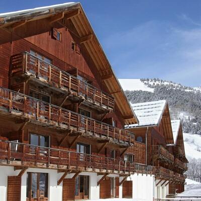 Les Chalets de la Porte des Saisons, pogled izvana, skijanje, Francuska