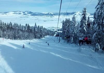 Skijalište u Kupresu.