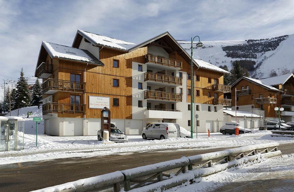 Skijanje Francuska, Les 2 Alpes, Apartmani Au Coeur Des Ours, izvana