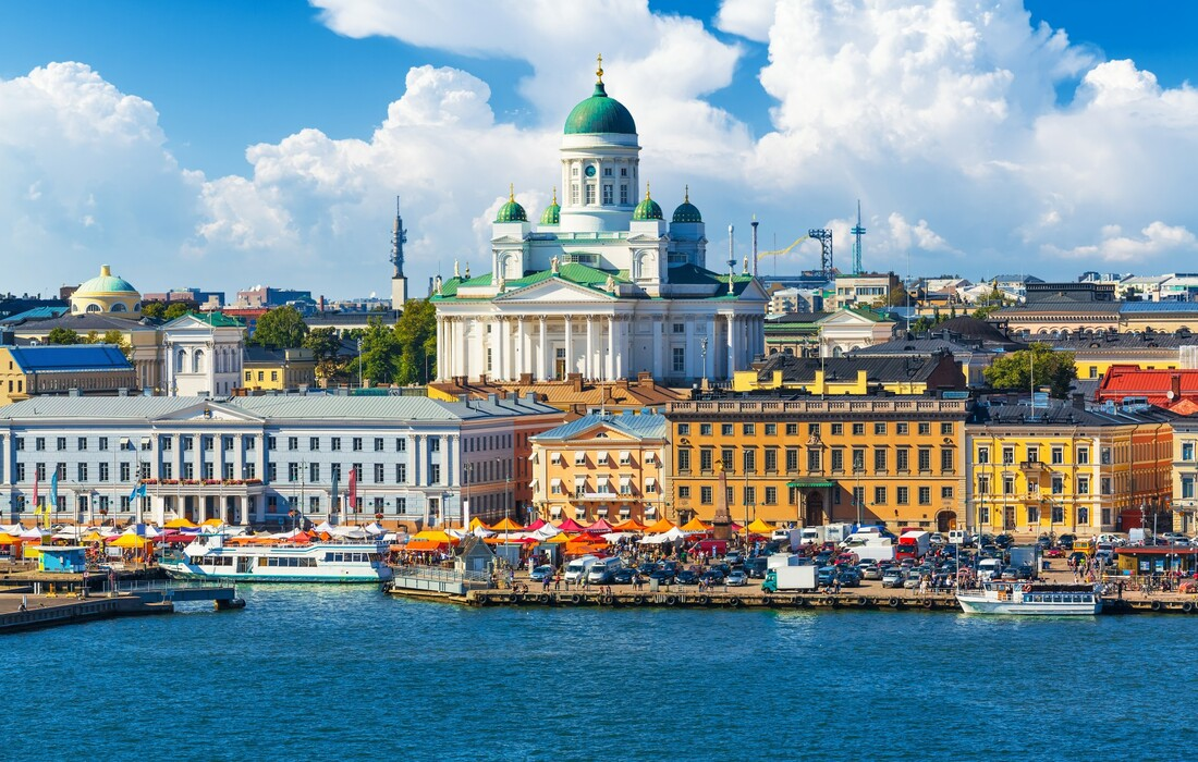 Bijela katedrala u Heksinkiju, europska putovanja avionom, Skandinavija, Finska putovanje