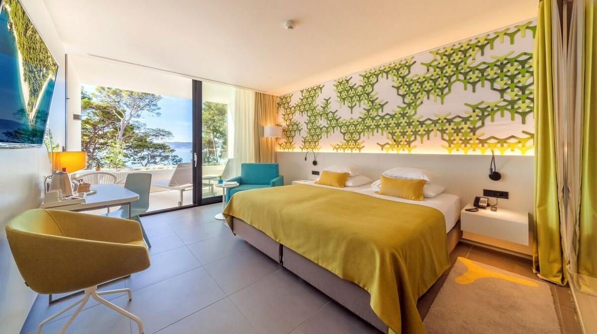 Dvokrevetna luksuzna soba, Bluesun hotela berulia beach, mondo travel