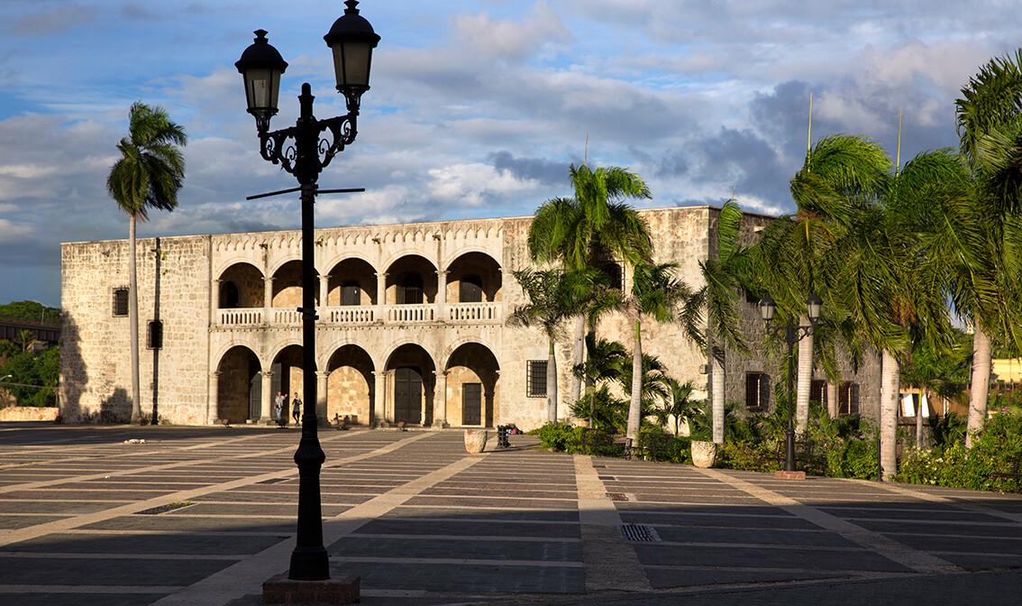 palača Diego Colon,  odmor Dominikanska republika, karibi, odmor iz snova, daleka putovanja