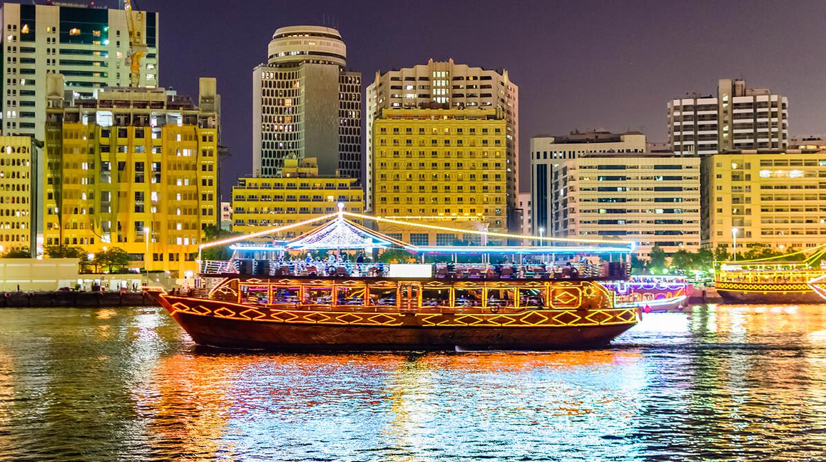 Dhow Cruise Dubai, putovanje u Dubai, Emirati, grupni polasci, daleka putovanja