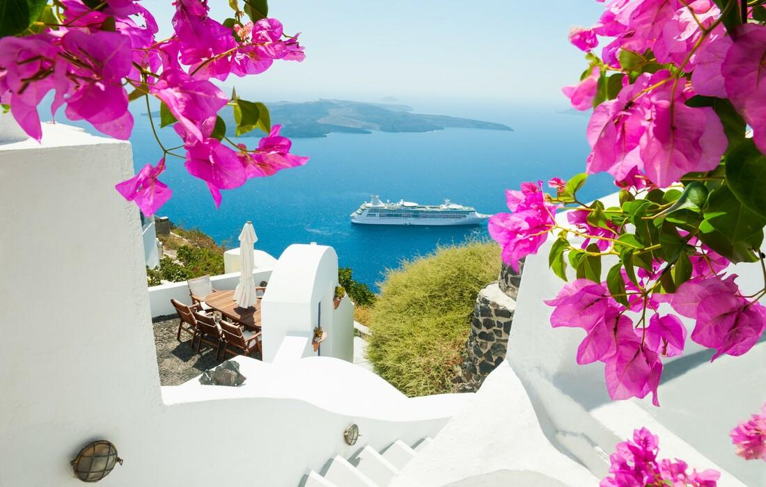 Santorini, putovanja zrakoplovom, Mondo travel, europska putovanja, garantirani polazak