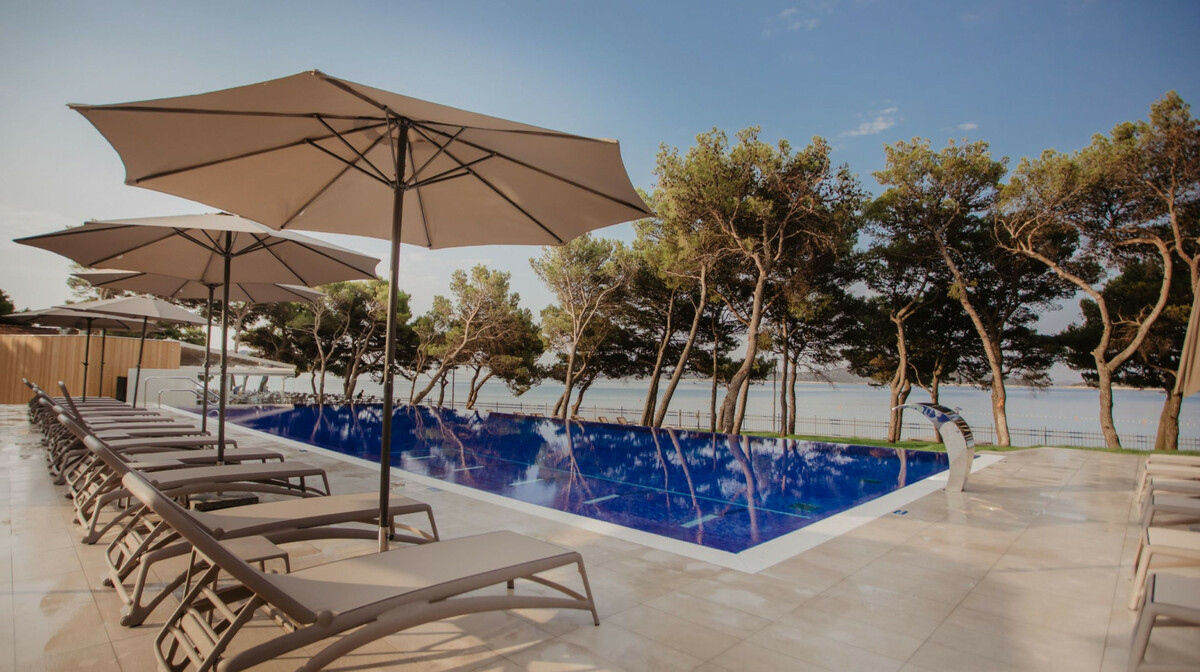 Hotel Punta, vanjski bazen