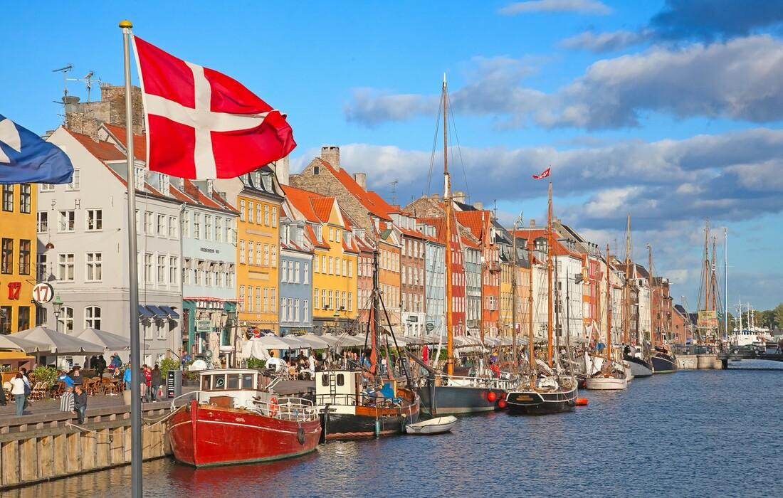 Kopenhagen, šarene zgrade i stari jedrenjaci, putovanje zrakoplovom