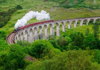 Škotska - Glenfinnan viaduct