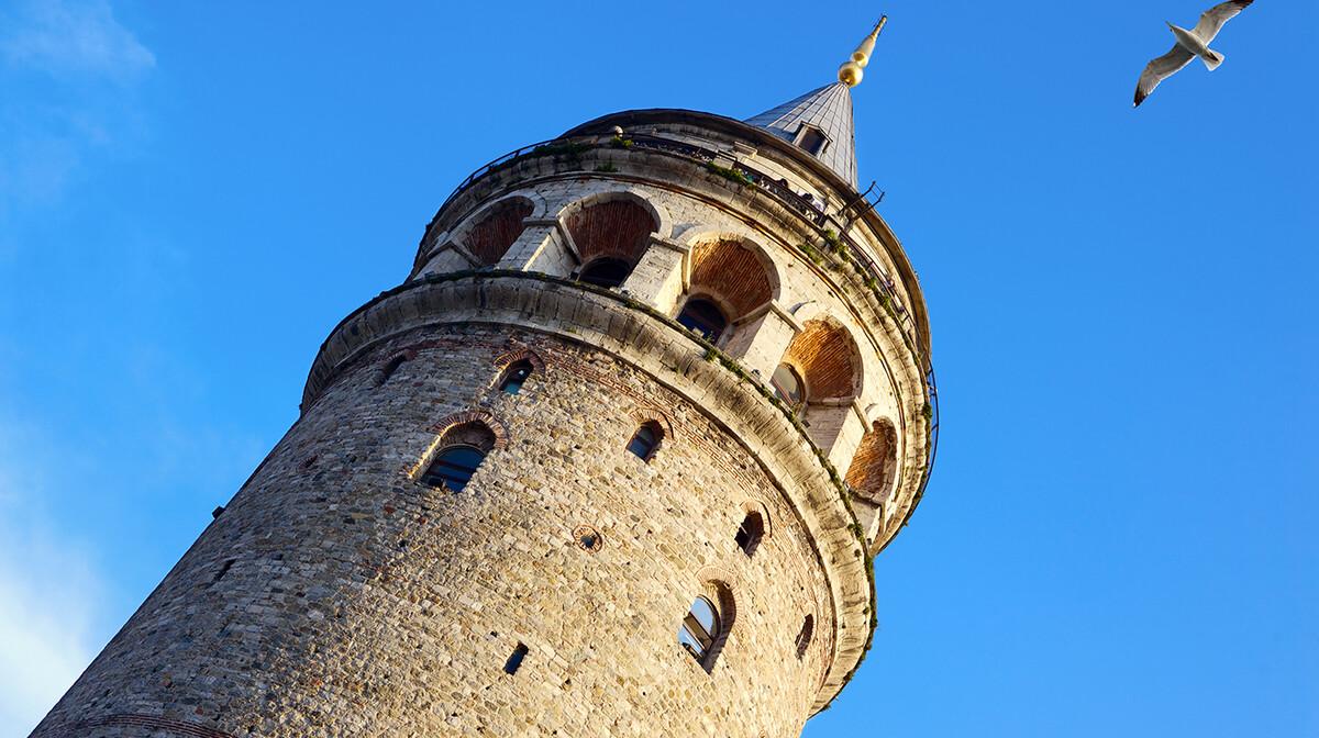 Galata Tower, istanbul zrakoplovom