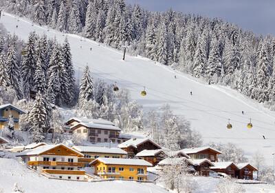 Austrija, skijanje - Flachau