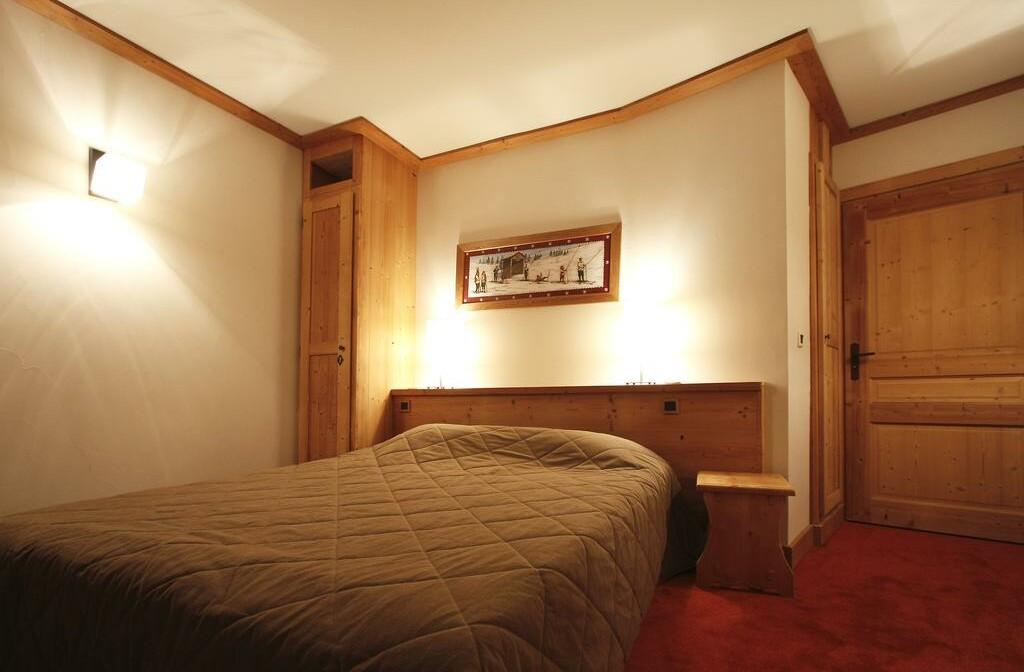 Skijanje u Francuskoj, Les 2 Alpes. Résidence Goleon Val Ecrins, spavaća soba.