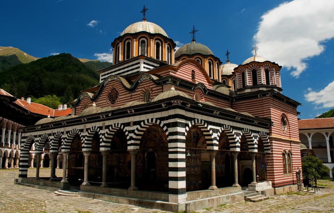 Bugarska - samostan Rila