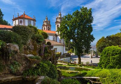 Portugal - Braga - Bom Jesus crkva