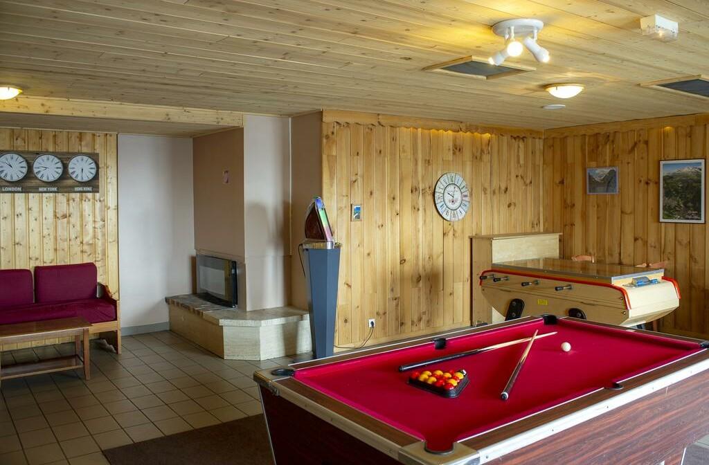 Skijanje, Francuska, Alpe d'Huez, Residence Franceloc D'huez, sobe za igre